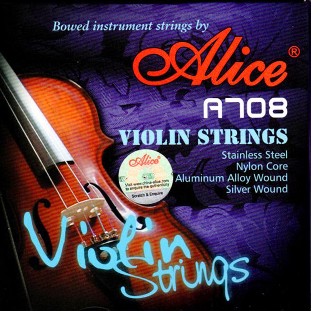 JYC A708 小提琴專用高檔尼龍芯套弦