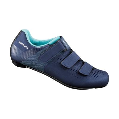 【SHIMANO】RC100 女款性能型公路車鞋 標準楦 海軍藍色