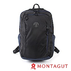 MONTAGUT夢特嬌-輕量多層式電腦後背包-後背系列