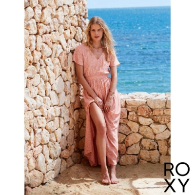 【ROXY】A NIGHT TO REMEMBER 洋裝 珊瑚紅