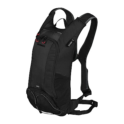 【SHIMANO】UNZEN 10L 自行車背包 (不含水袋) 黑