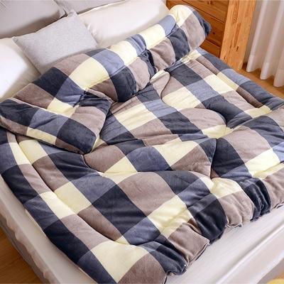 《田中保暖試驗所》MIT 雙面法蘭絨暖暖 毯被 輕柔蓬鬆 冬季限定鋪棉款 寒流必備(多色任選)