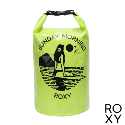 【ROXY】GORGEOUS DRY BAG 15L 防水後背包 黃色