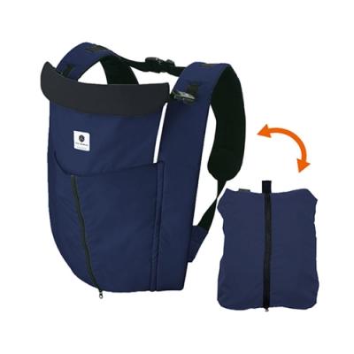 日本製Eightex-桑克瑪為好Cube五合一多功能背巾(深藍)