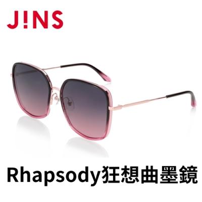 JINS Rhapsody 狂想曲CHARMING SECRET墨鏡(ALRF21S059)暗紅色