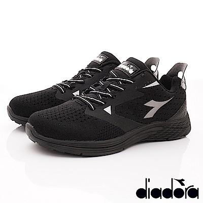 DIADORA-PU能量健走鞋款 SI590黑(男段)