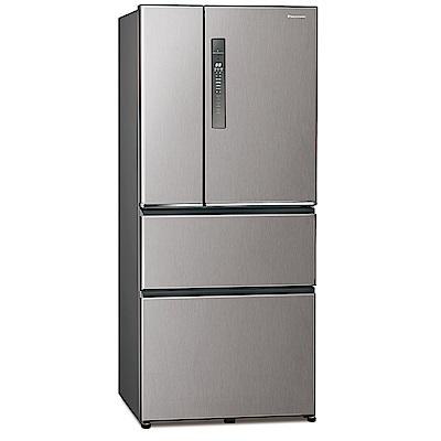 [館長推薦] Panasonic 國際牌 610公升 四門變頻冰箱 NR-D611XV-L 絲紋灰