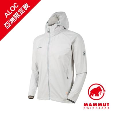 【Mammut】GRANITE SO  防風連帽軟殼外套 公路灰 男款 #1011-00321