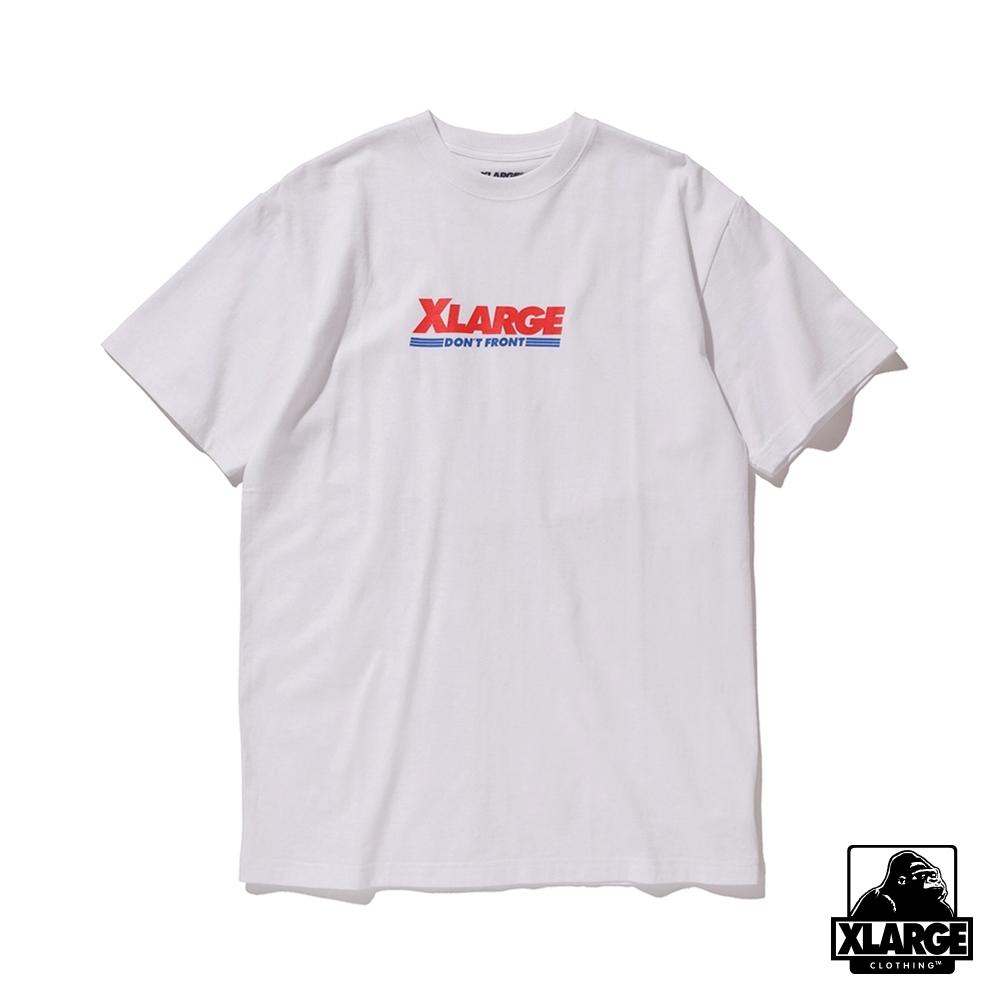 XLARGE S/S TEE WAREHOUSE 短袖T恤-白