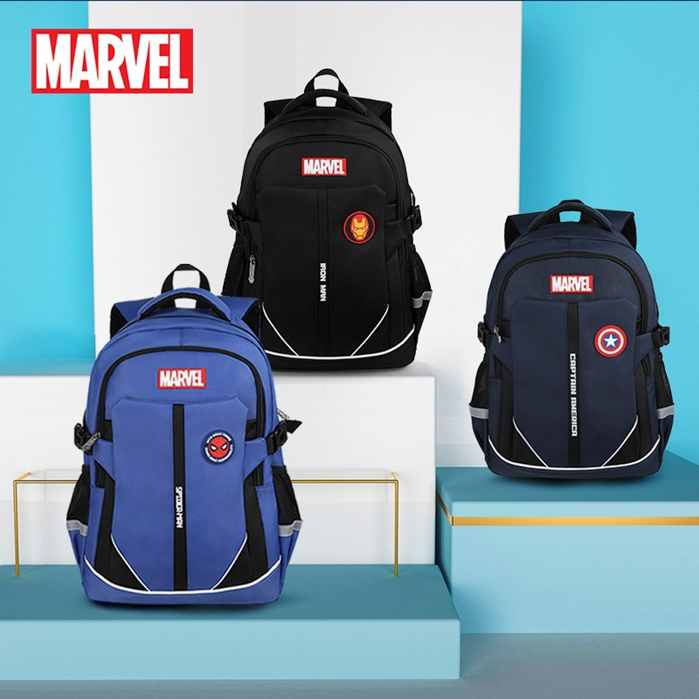 Disney 迪士尼 漫威系列學生休閒後背包書包