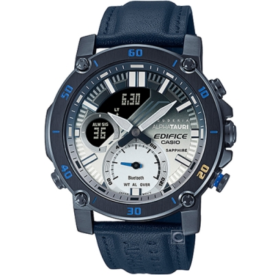 CASIO EDIFICE 聯名限量高性能賽車運動計時碼錶(ECB-20AT-2A)