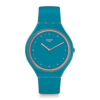 Swatch  SKIN超薄系列 SKINAUTIQUE超薄粉藍