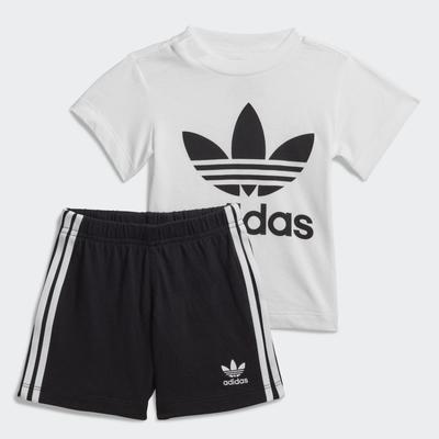 【時時樂限定】adidas ADICOLOR 男女童運動套裝