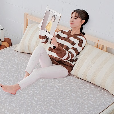 米夢家居-台灣製造-全方位超防水止滑保潔墊/生理墊/尿布墊(150x186cm)-北極熊