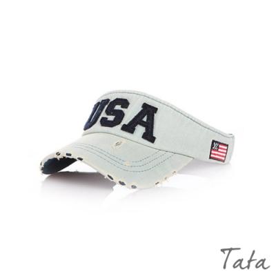 兒童 USA牛仔刷破鴨舌帽 共二色 TATA KIDS