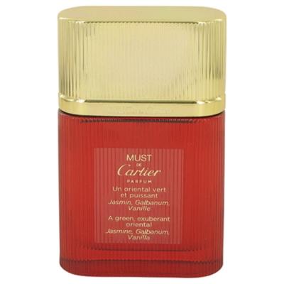 *(即期品)Cartier 卡地亞 必須女性淡香水50ml tester