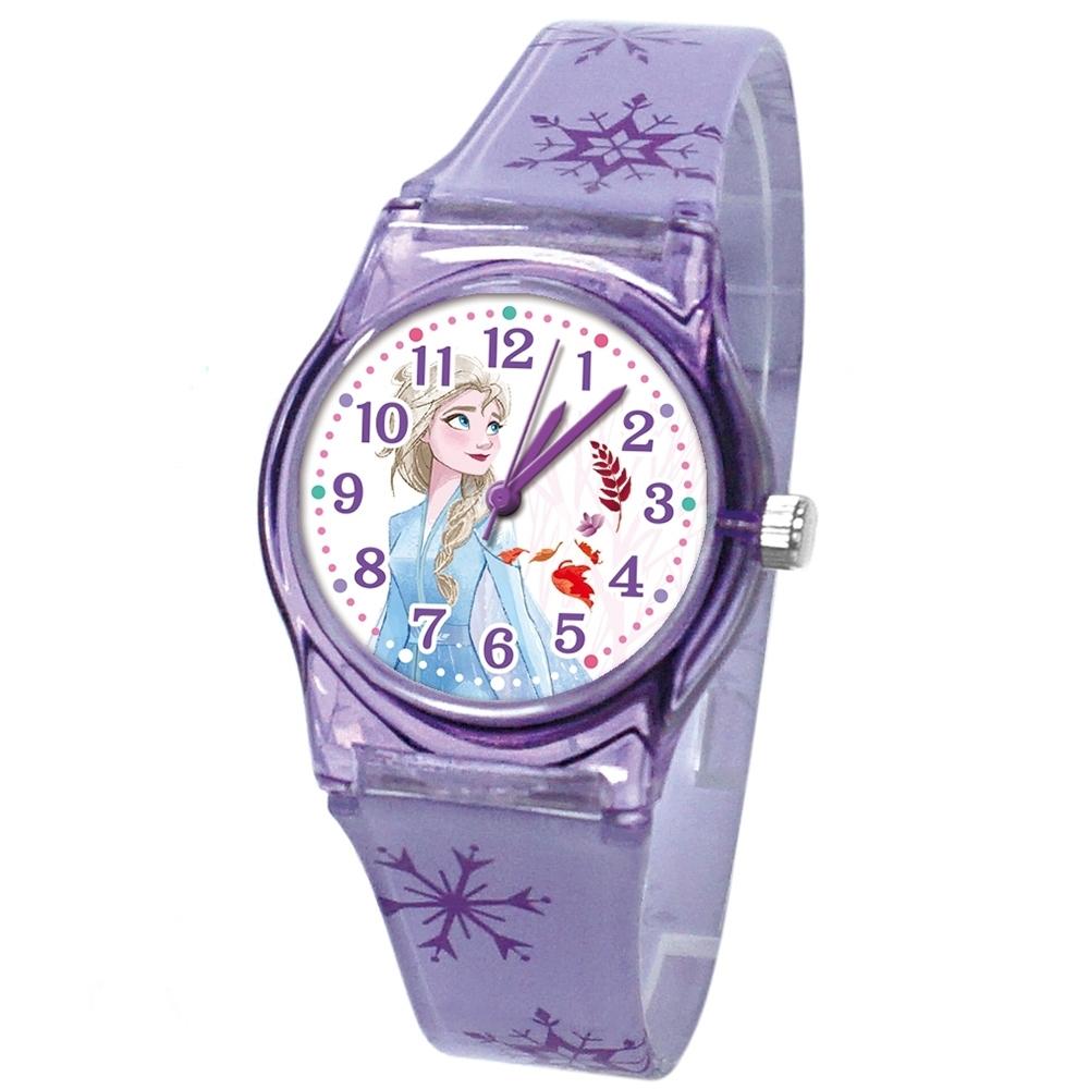 DF童趣館 - 冰雪奇緣2日本品牌機芯數位印花兒童手錶-共3色