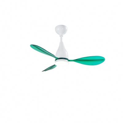VENTO芬朵 PAGAIA船槳系列 42吋燈扇 白色本體 透綠葉片 不含安裝