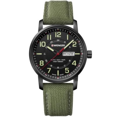 WENGER 威格 Attitude Heritage復古休閒手錶(01.1541.104)-42mm