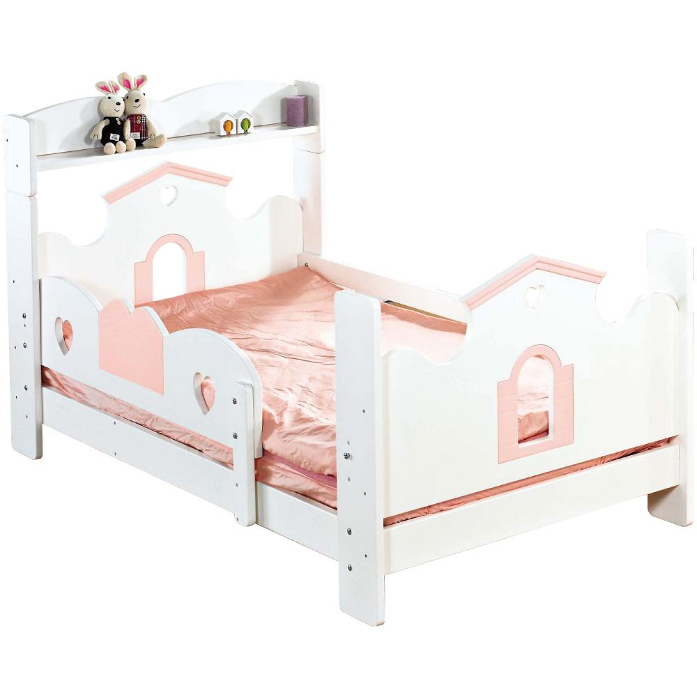 文創集 賈伯3.5尺單人床組(二色+不含床墊)-114.5x200x109.5cm免組