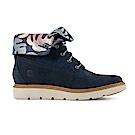 Timberland 女款海軍藍Kenniston靴   A1PAS019