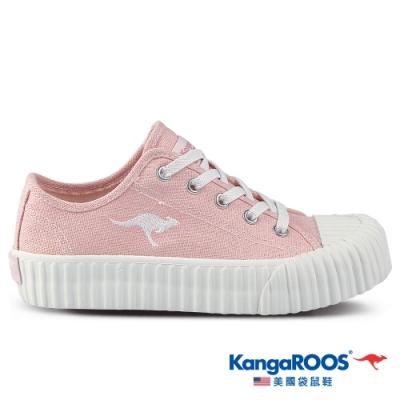 KangaROOS 美國袋鼠鞋 童鞋 CRUST 甜點手工餅乾鞋/休閒鞋(粉-KK11383)