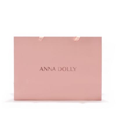 ANNA DOLLY 玫瑰燙金禮品提袋 #大