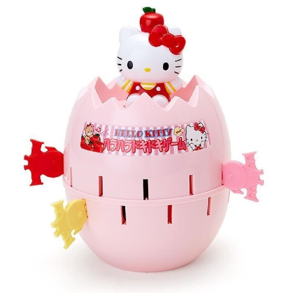日本SANRIO 玩具危機一發 Hello Kitty 海盜桶387312