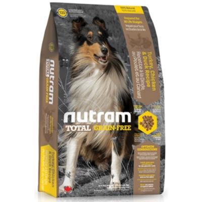 【NUTRAM】紐頓T23無穀挑嘴潔牙全齡犬(火雞+雞肉)6lb/2.72kg【2包組】