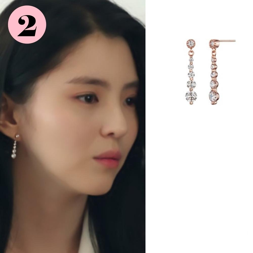 梨花HaNA 2020韓劇夫妻的世界永遠君主女主角耳環特輯 product image 1