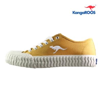 KangaROOS CRUST 男休閒帆布餅乾鞋 芥末黃 KM91264