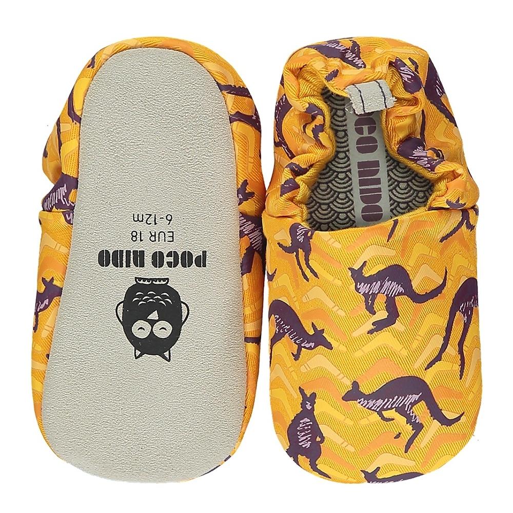 英國 POCO NIDO 手工嬰兒鞋 (跳跳袋鼠)【2021新款】