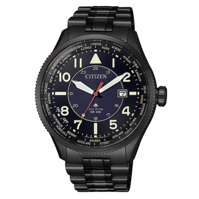 CITIZEN星辰PROMASTER萬年曆光動能腕錶BX1015-84L