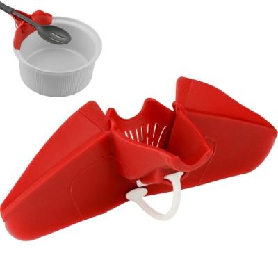 《Premier》附濾嘴鏟匙收納架(紅)
