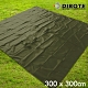 迪伯特DIBOTE 銀膠防水地墊/野餐墊/帳篷底布 (300x300) -綠 -快速到貨 product thumbnail 1
