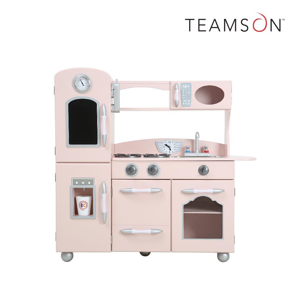 Teamson 奧蘭多北歐風木製廚房玩具(2色)