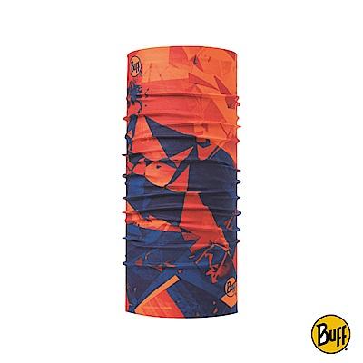 【西班牙BUFF】經典頭巾 Plus-橘光藍影
