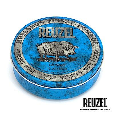 REUZEL Blue Pomade藍豬超強水性髮油340g