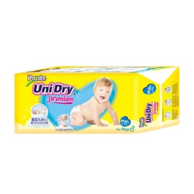 Unidry優力褲 嬰兒褲型紙尿褲特級版男生版M(30片x8包/箱)(嬰兒紙尿褲 褲型紙尿褲)