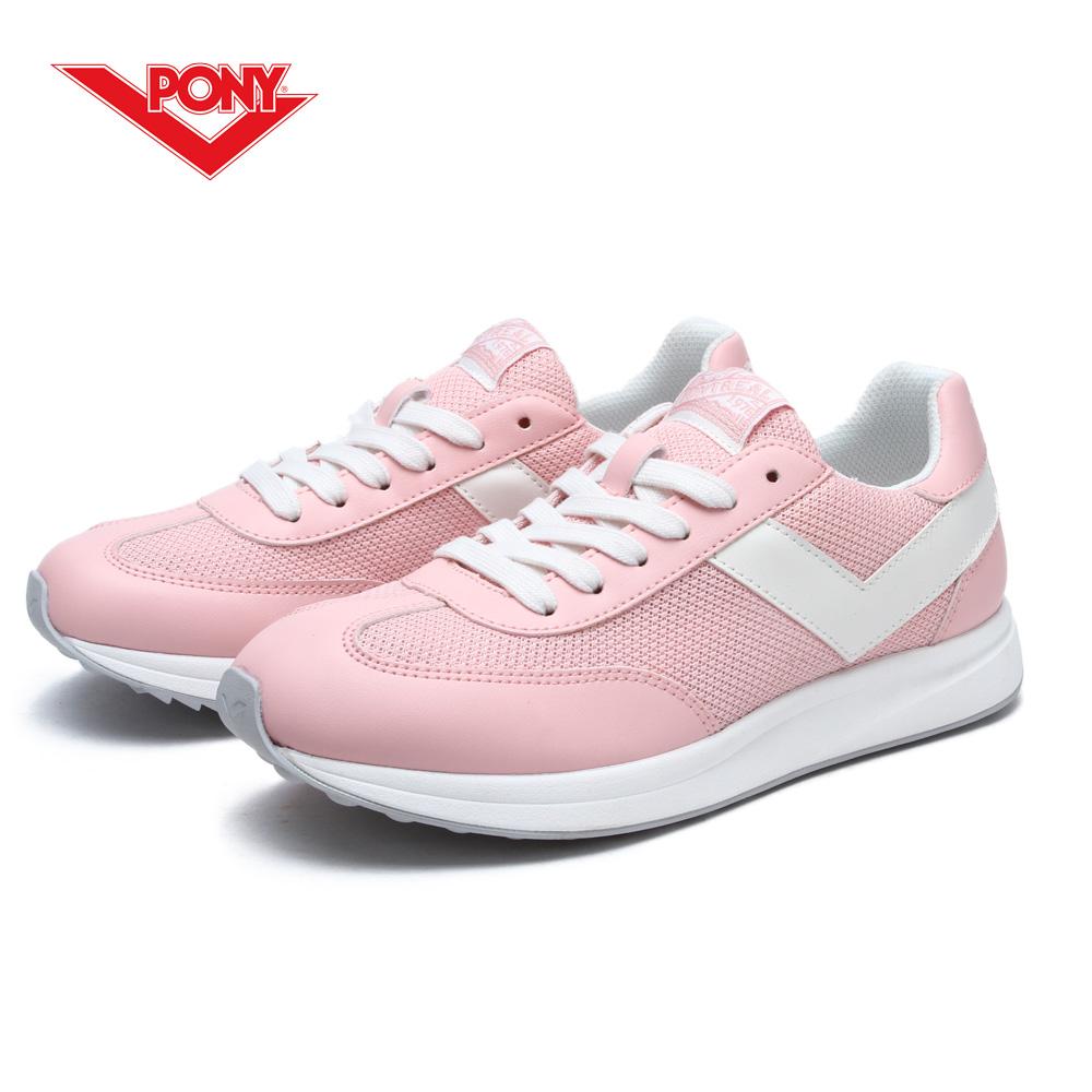 【PONY】Montreal 系列-經典運動復古鞋-女性-粉