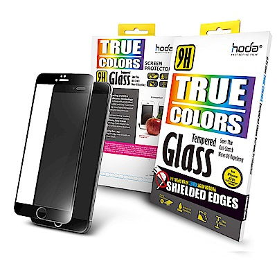【hoda】iPhone 6/6s Plus 3D防碎軟邊滿版9H鋼化玻璃保護貼