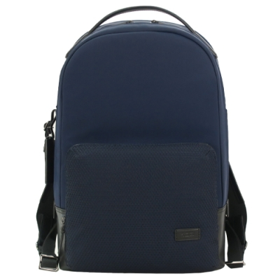 TUMI HARRISON WEBSTER簡約尼龍後背包(適用15吋筆電)-海軍藍