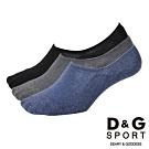 D&G 網織透氣男隱形襪-10雙組(D397)-台灣製造