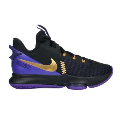 NIKE LEBRON WITNESS V EP 男籃球鞋-氣墊 高筒 避震 CQ9381001 黑紫金