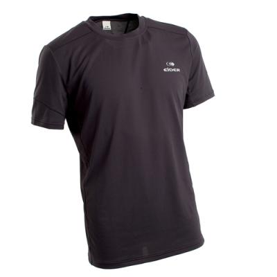 法國【EiDER】男排汗透氣短袖圓領衫 /  EIT1652深灰
