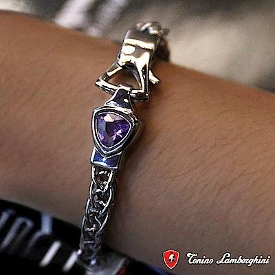 藍寶堅尼Tonino Lamborghini SCUDO Purple blue手環 手鍊