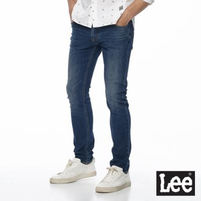 Lee 牛仔褲 709 低腰合身小直筒 男 藍 四面彈