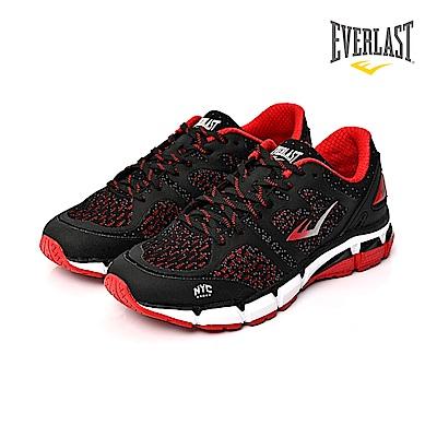 EVERLAST 美國運動品牌-復古慢跑鞋-男-黑紅