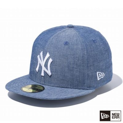 NEW ERA 59FIFTY 5950 CHAMBRAY 洋基 藍 棒球帽