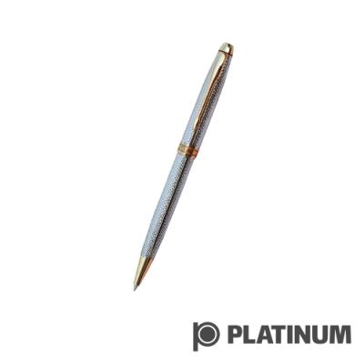 PLATINUM白金 原子筆 |   日系 雕花鍍銀 BAG-600